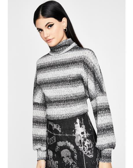 True Sparkle Turtleneck Sweater