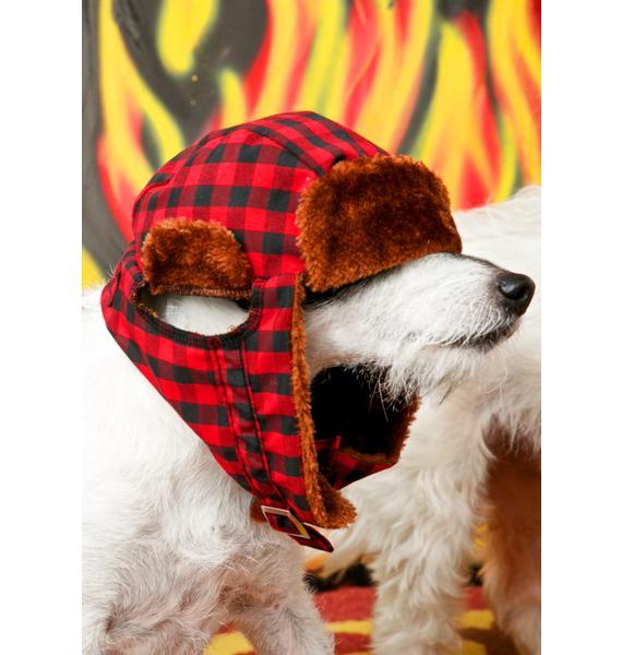 Rowdy Ruff-Ruff Dog Hat
