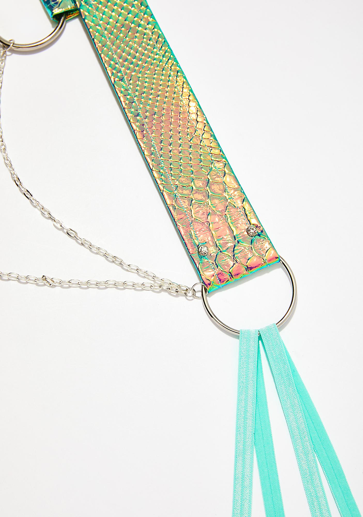 Seagypsy Couture Parrotfish Prism Dragon Belt