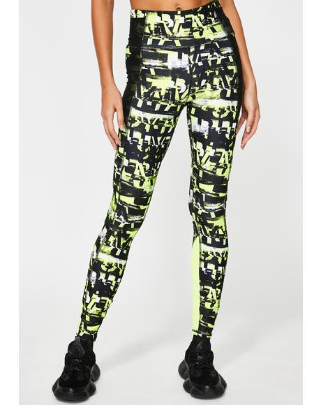 Be Bold AOP 7/8 Leggings