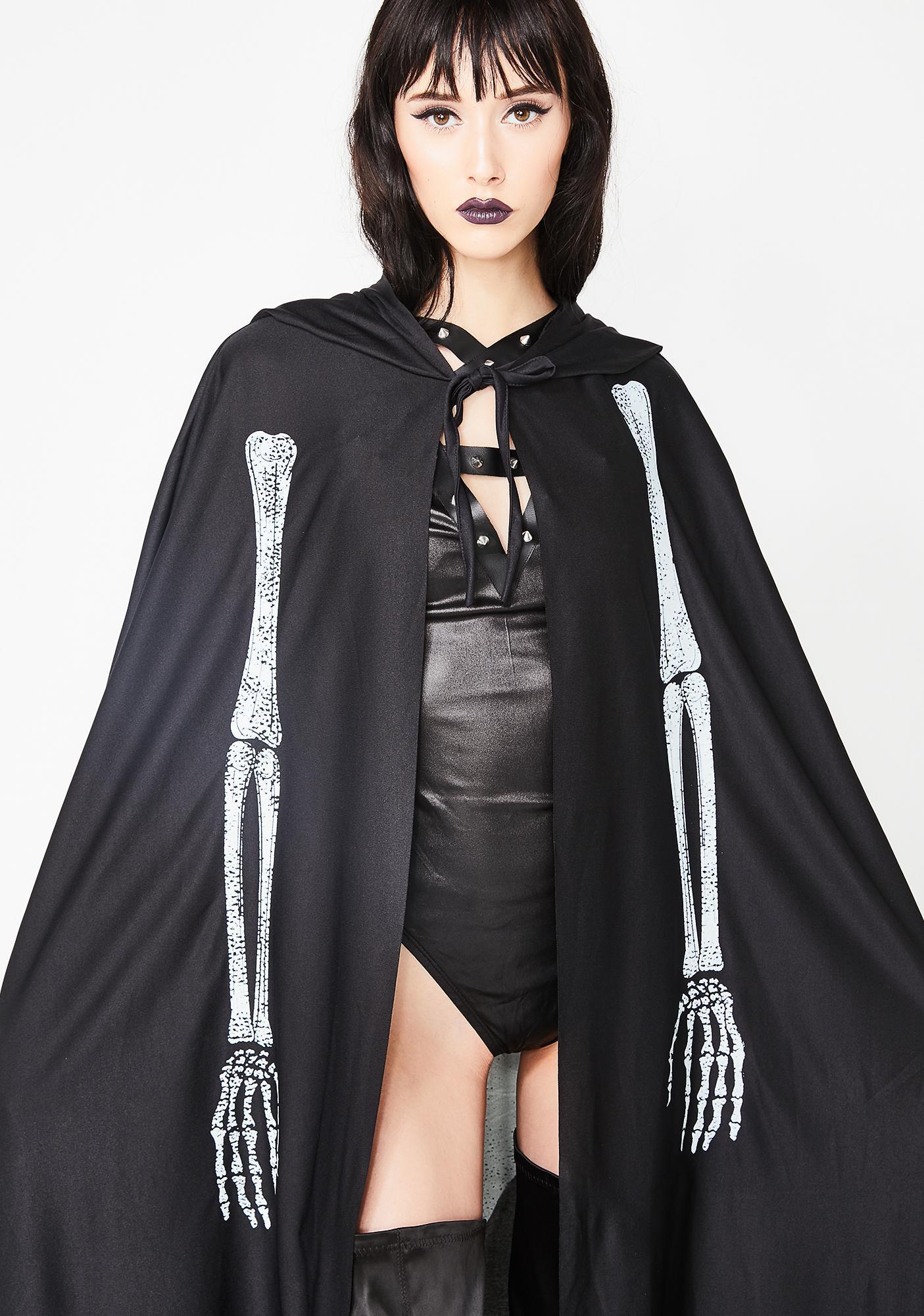 Crypt Keeper Skeleton Cape