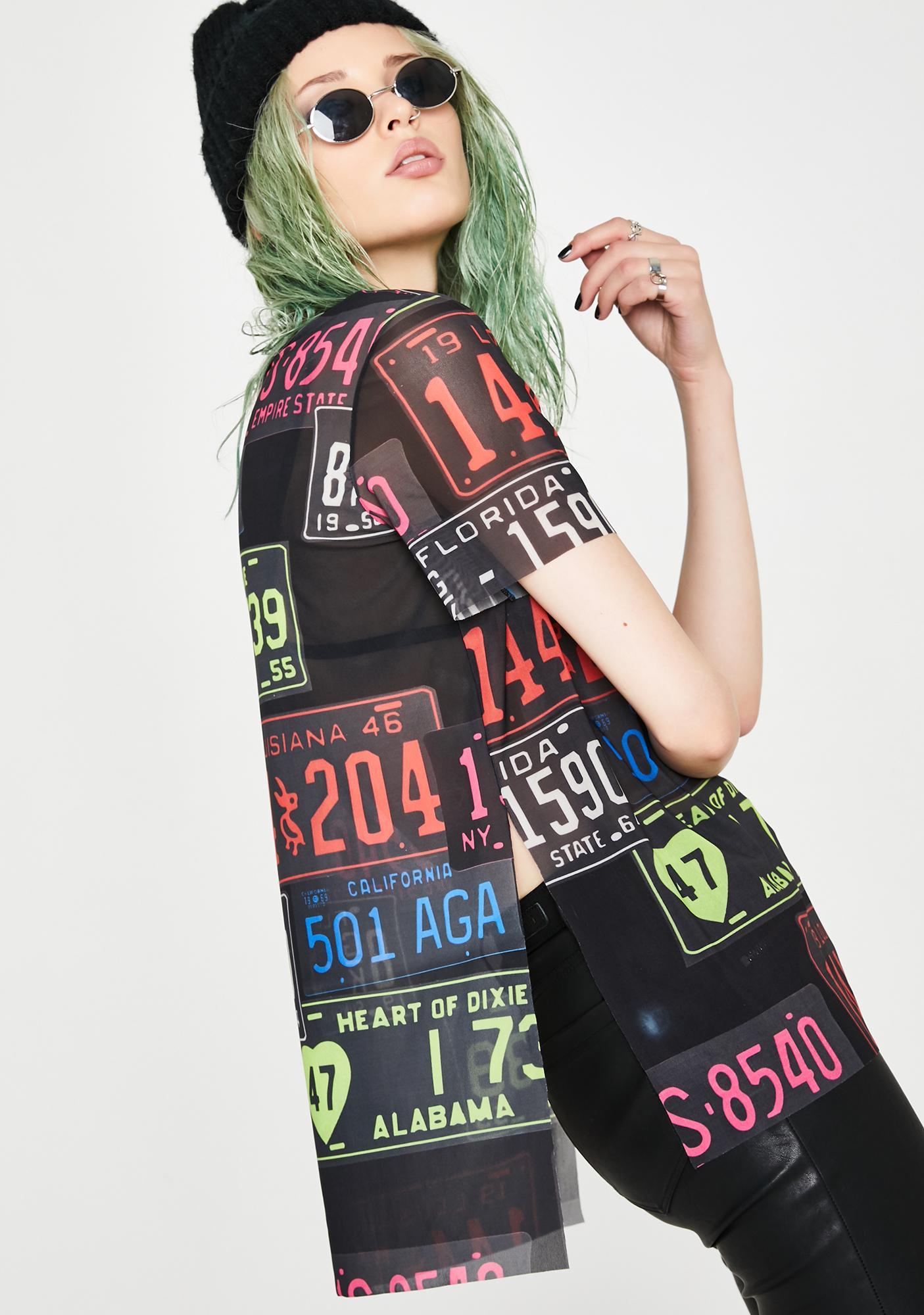 Kiki Riki Numbers Game Printed Top
