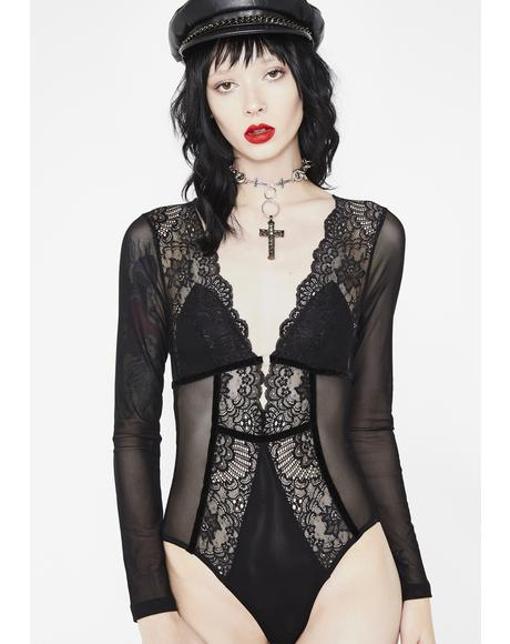 Dark Temptation Lace Bodysuit
