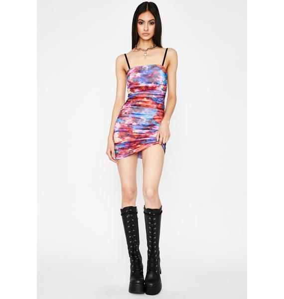 Prism I'm Good Luv Ruched Dress