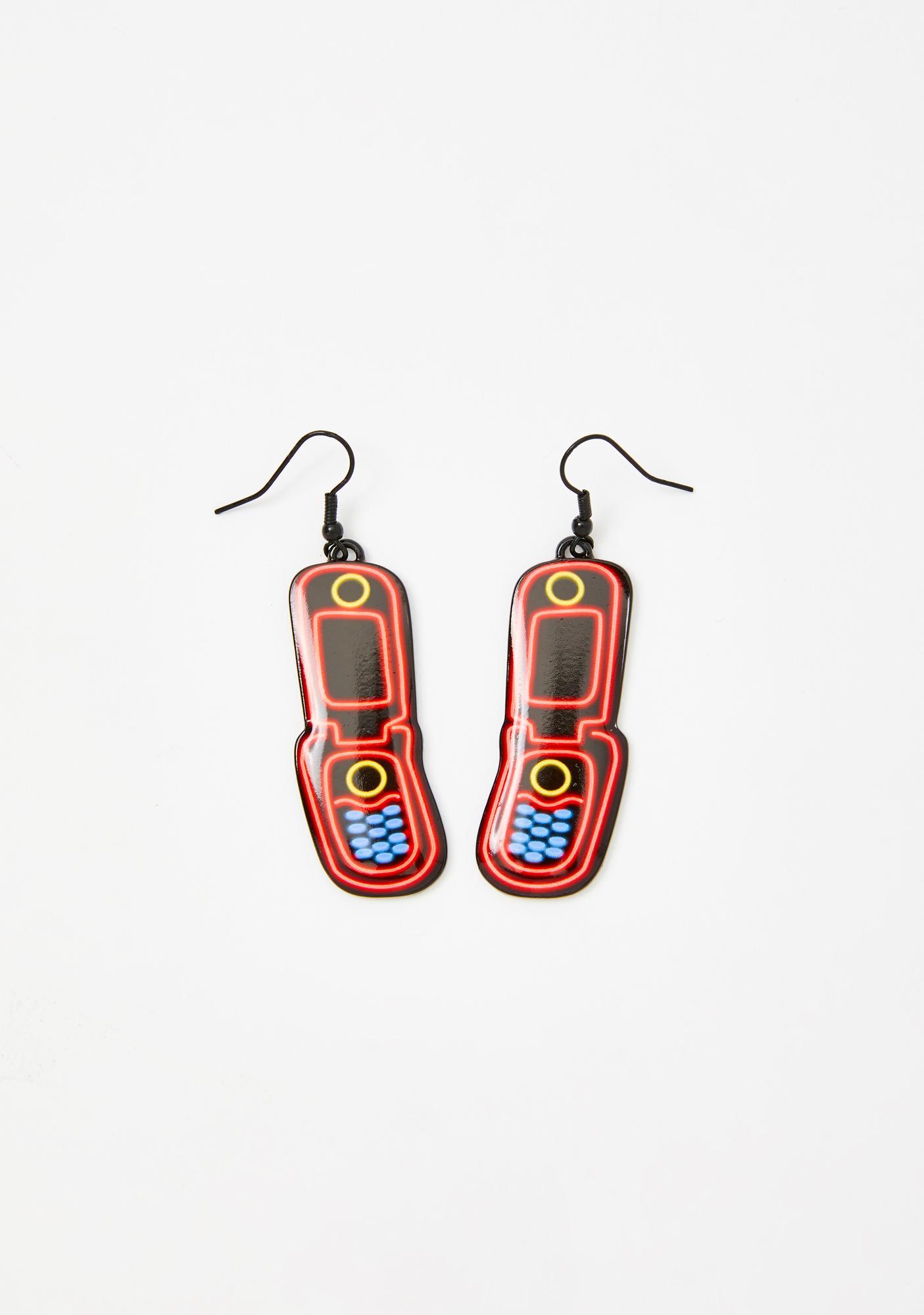 Read Receipts Phone Earrings