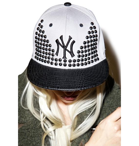 NY Studded Snapback
