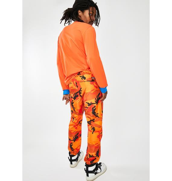 XLARGE Warm Up Camo Pants