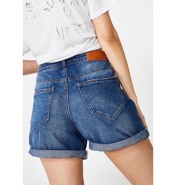 Noisy May Liv Denim Shorts