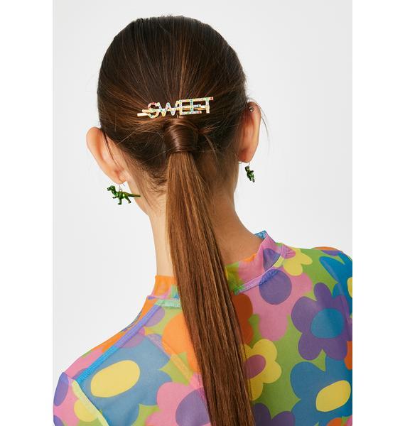 Sweet N' Spicy Rhinestone Hair Clips