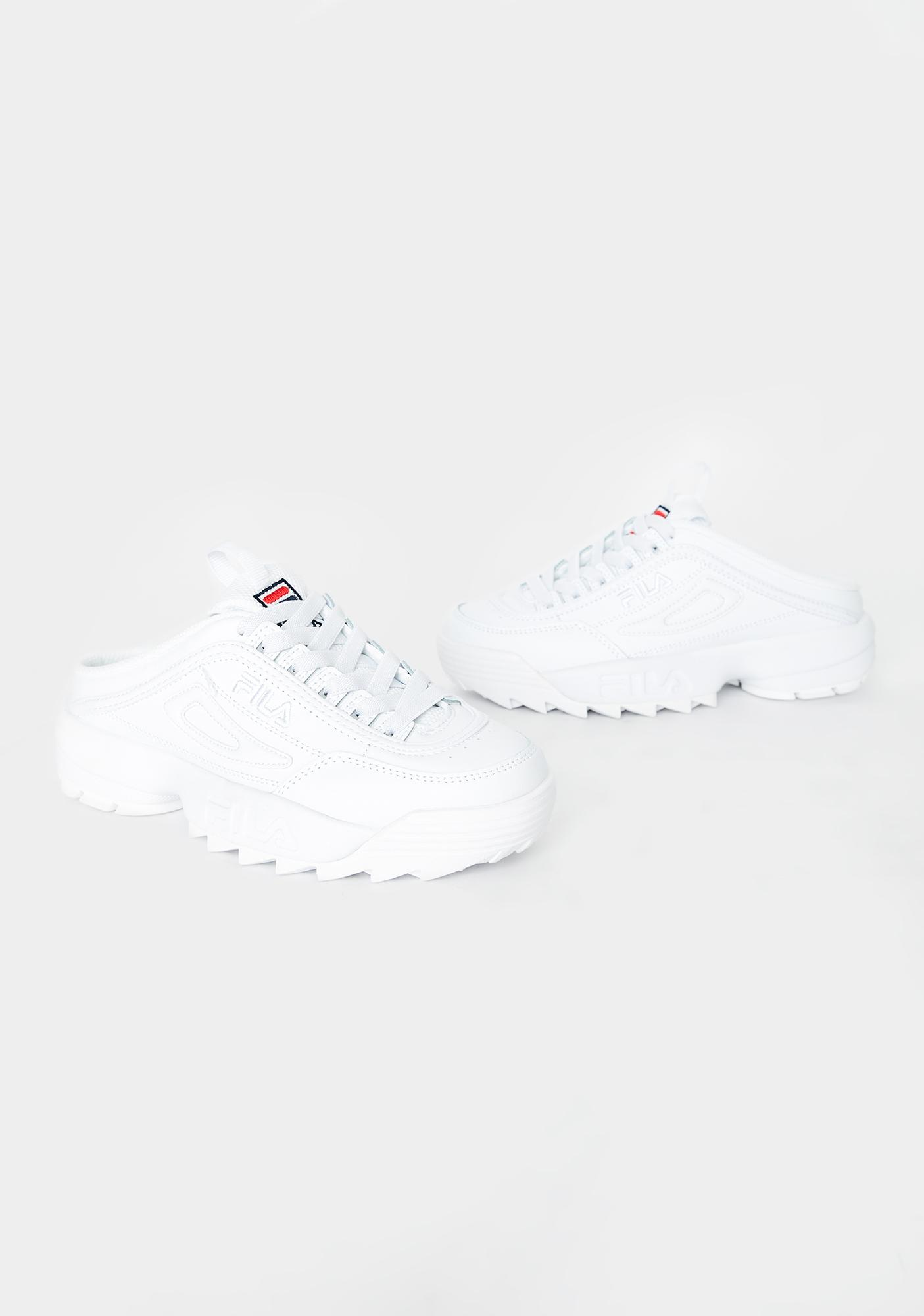 fila mule sneakers