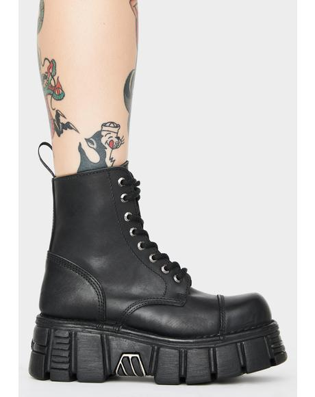 Knife Combat Boots