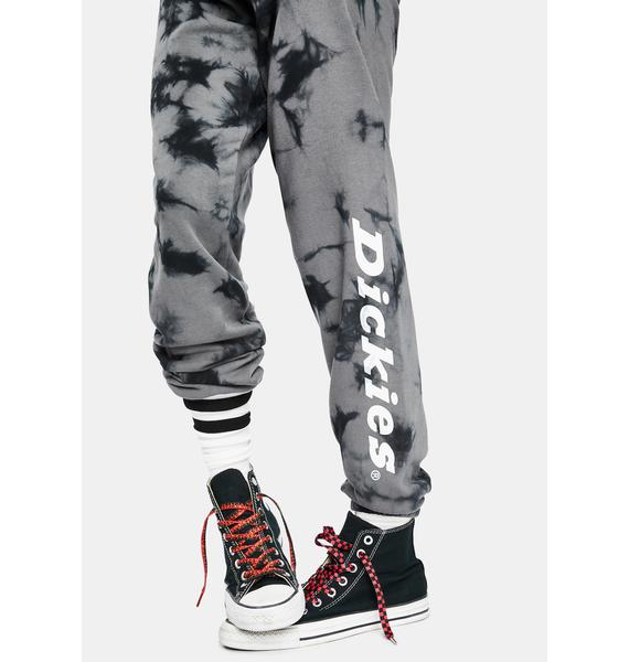 Dickies Girl Large Logo Tie Dye Sweatpants