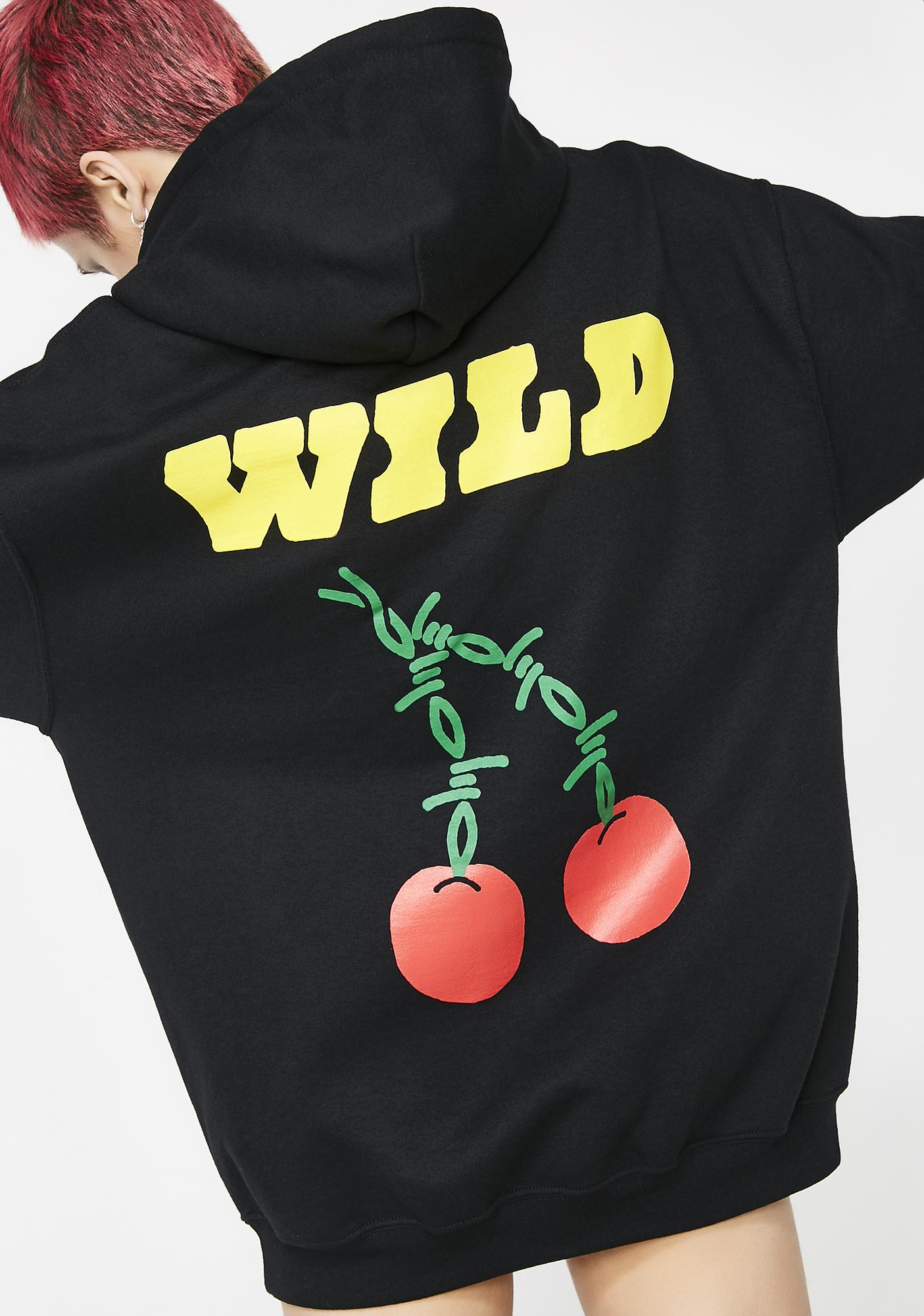 Wild Slots Hoodie by Petals And Peacocks