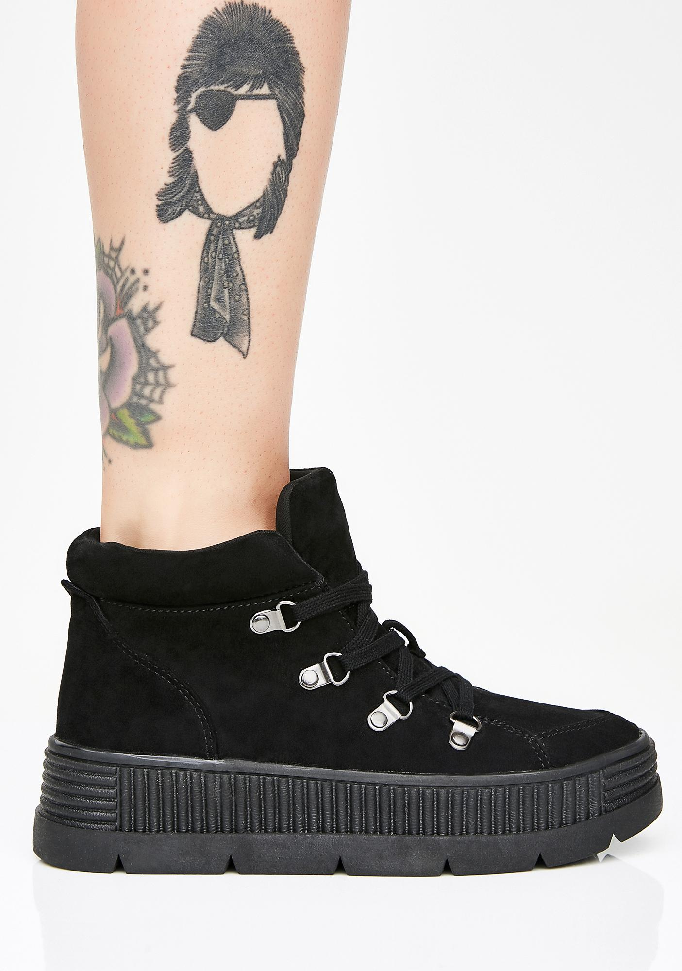 So Called Angels Platform Sneakers