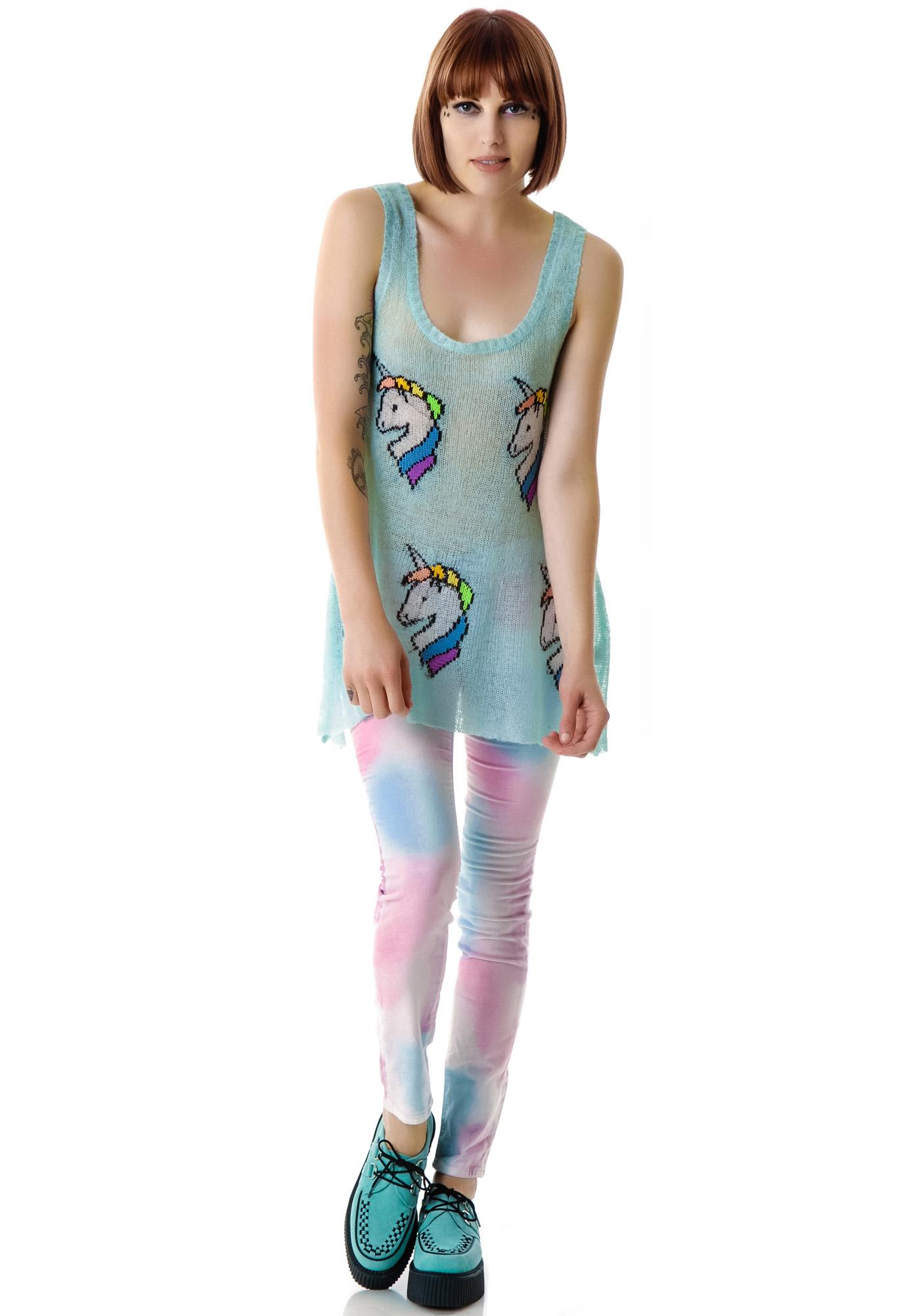 Wildfox Couture Star Bright Summer Lake Tank