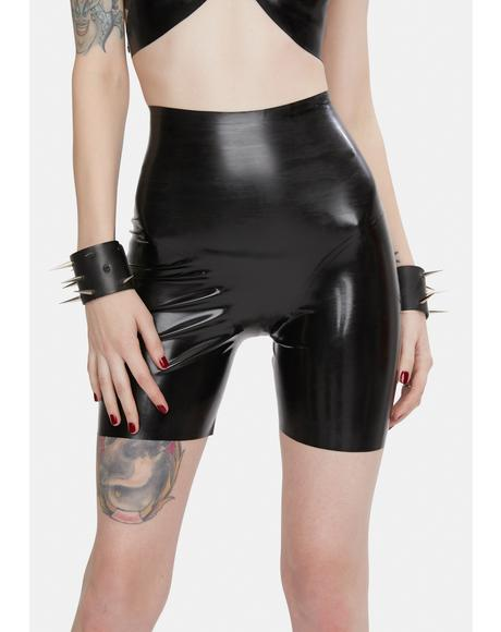 Latex Panty Shorts