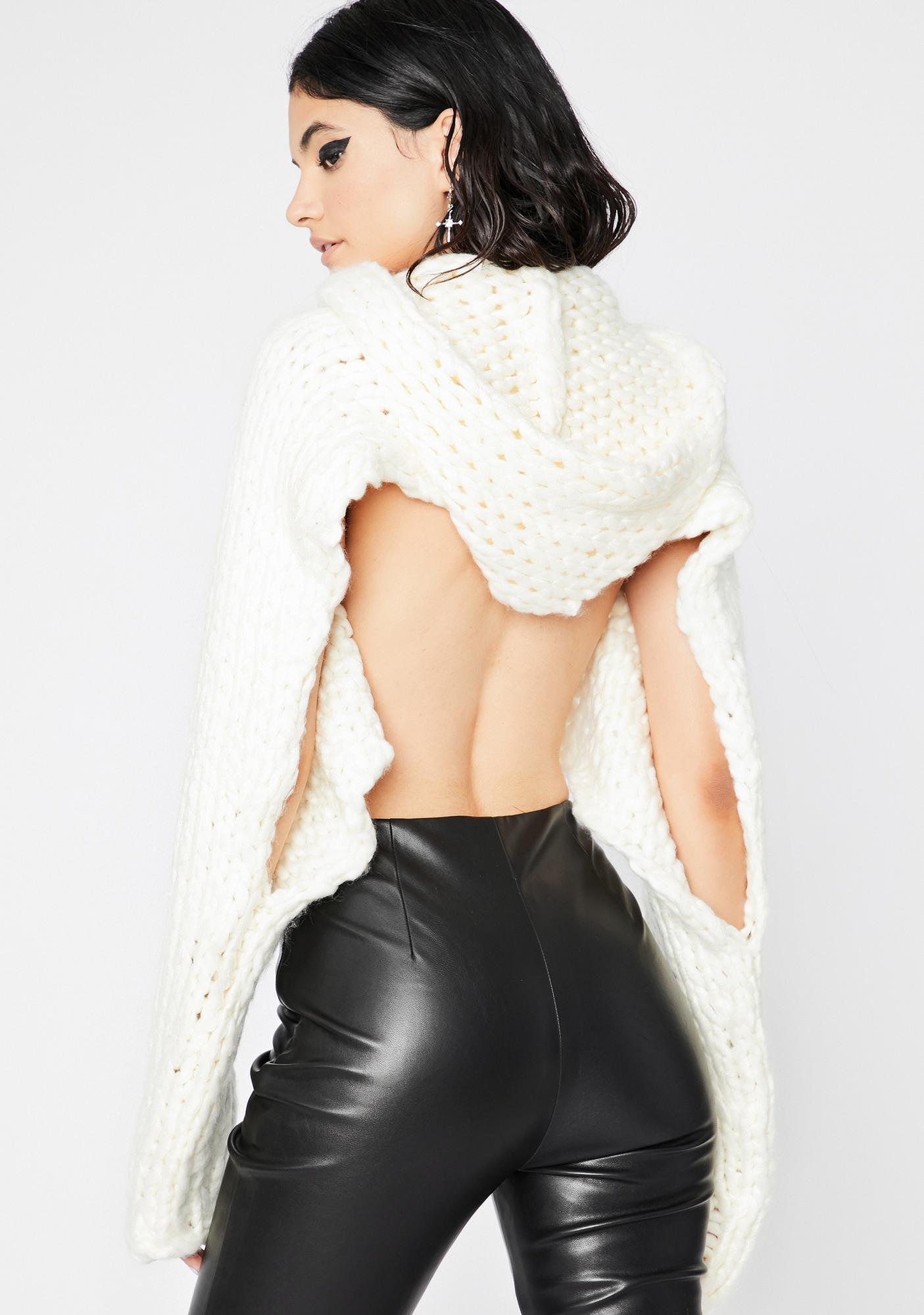 Pure Chic Freak Sweater Shrug