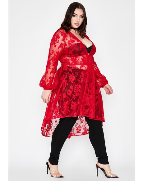 Hell Forever Hexin' My Ex Lace Duster