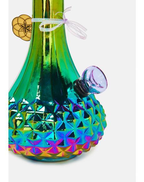 Aurora Iridescent Bud Vase Bong