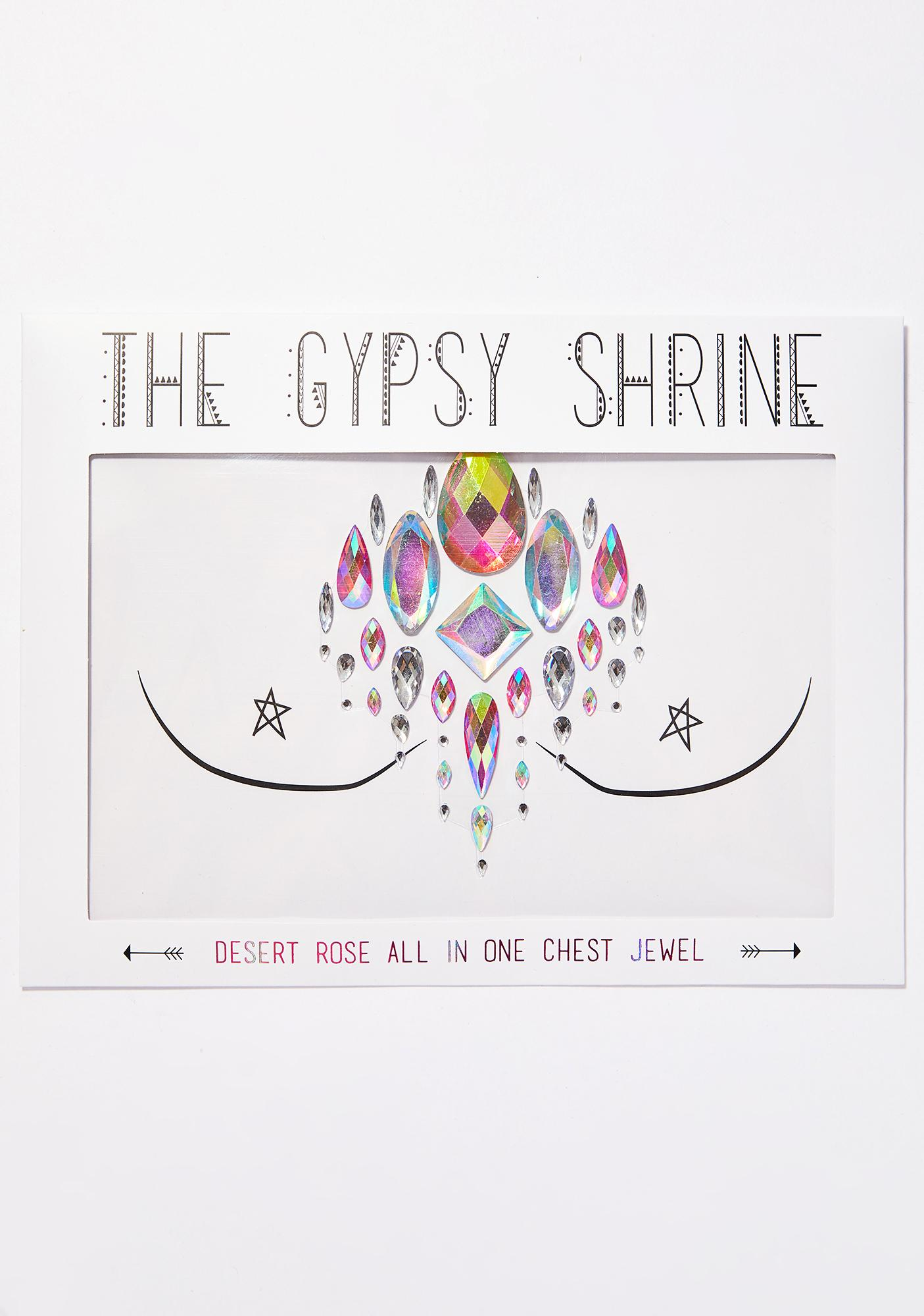 The Gypsy Shrine Desert Rose Chest Jewels