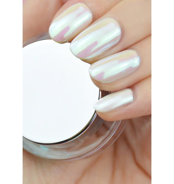 Le Mini Macaron Kitticorn Magic Holographic Nail Powder Set