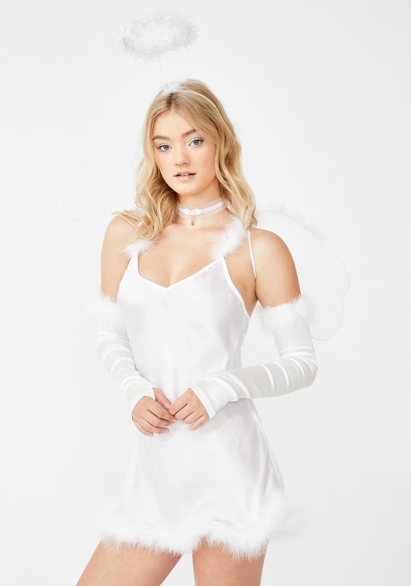 Dolls Kill Calling All Angels Costume Set