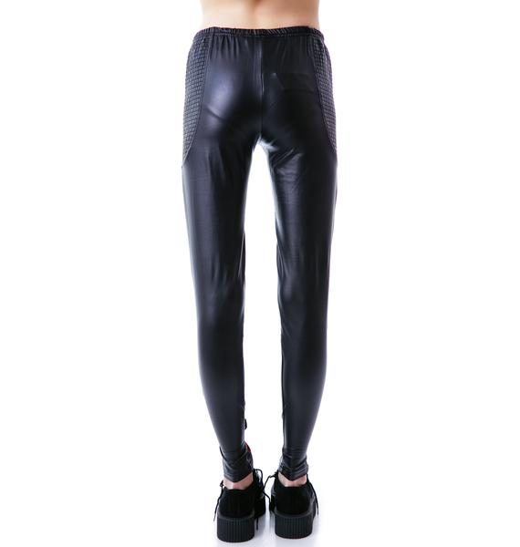 Mink Pink An Education Leggings