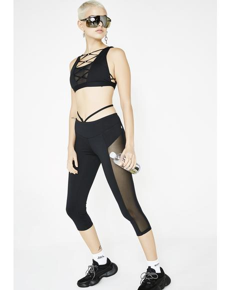 Strap Me Up Capri Leggings