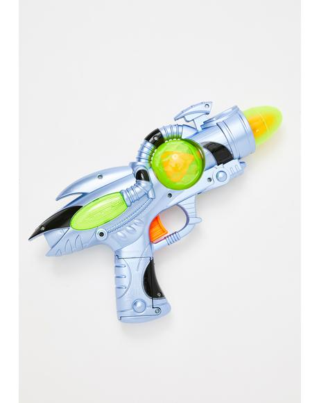 Martian Militia Light Up Ray-gun