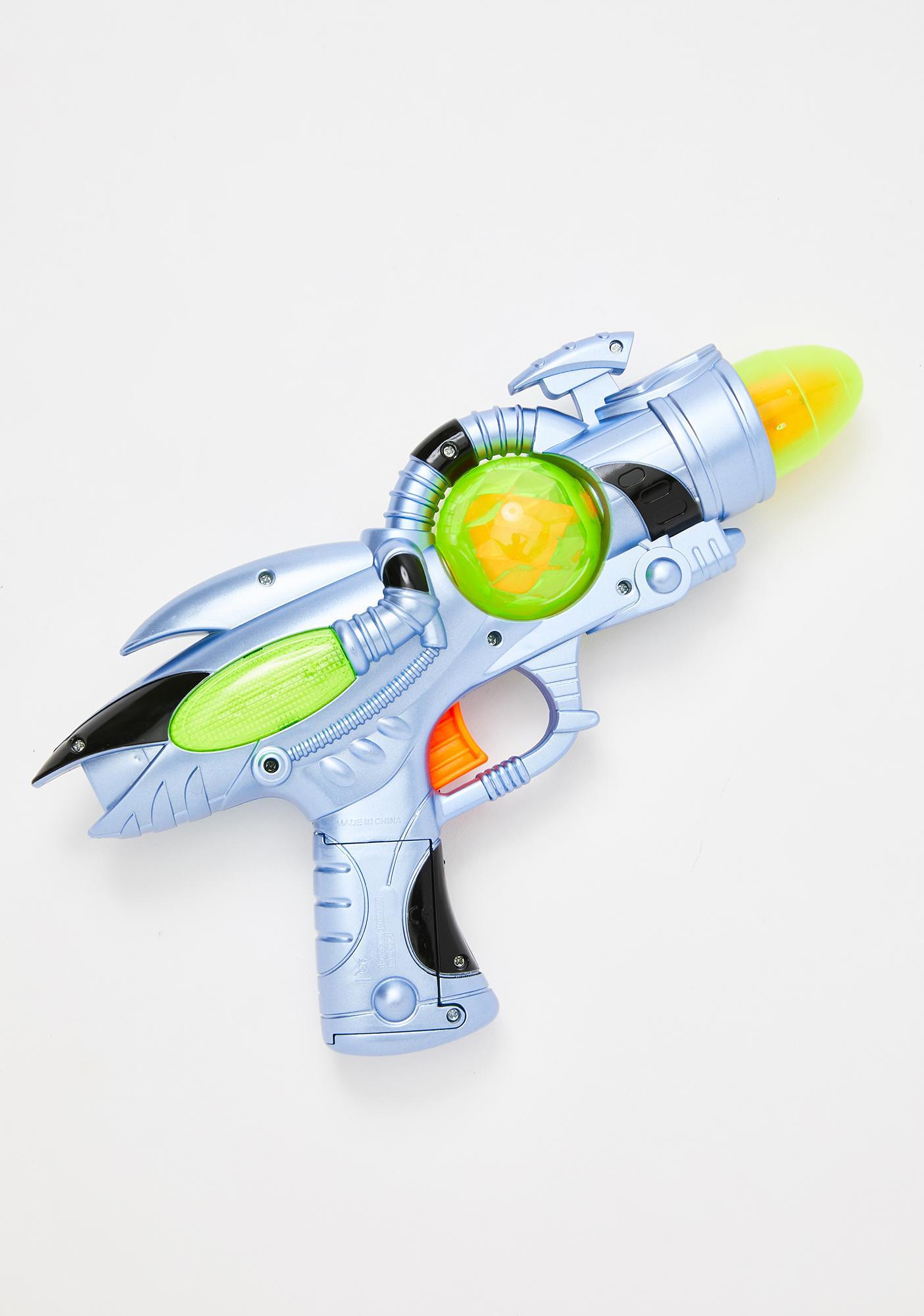 Martian Militia Light Up Ray-gun