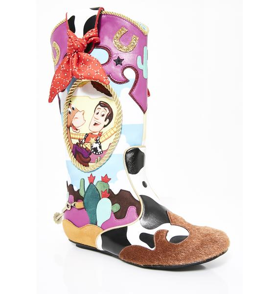 Irregular Choice x Toy Story Ride Like The Wind