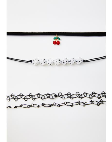 Sweet Gamble Choker Set