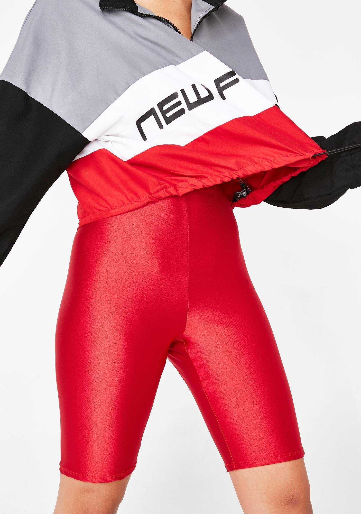 Fire Rude Gal Biker Shorts