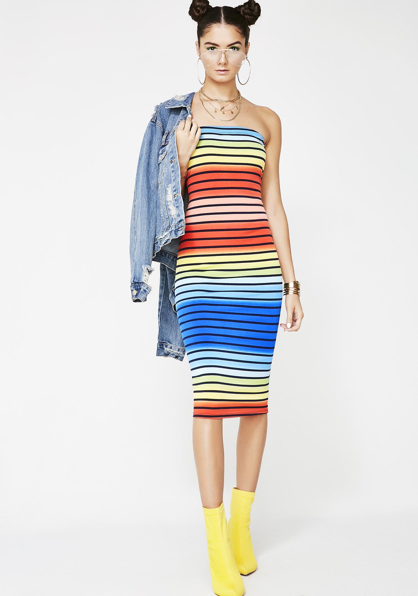 Candyland Stripe Dress