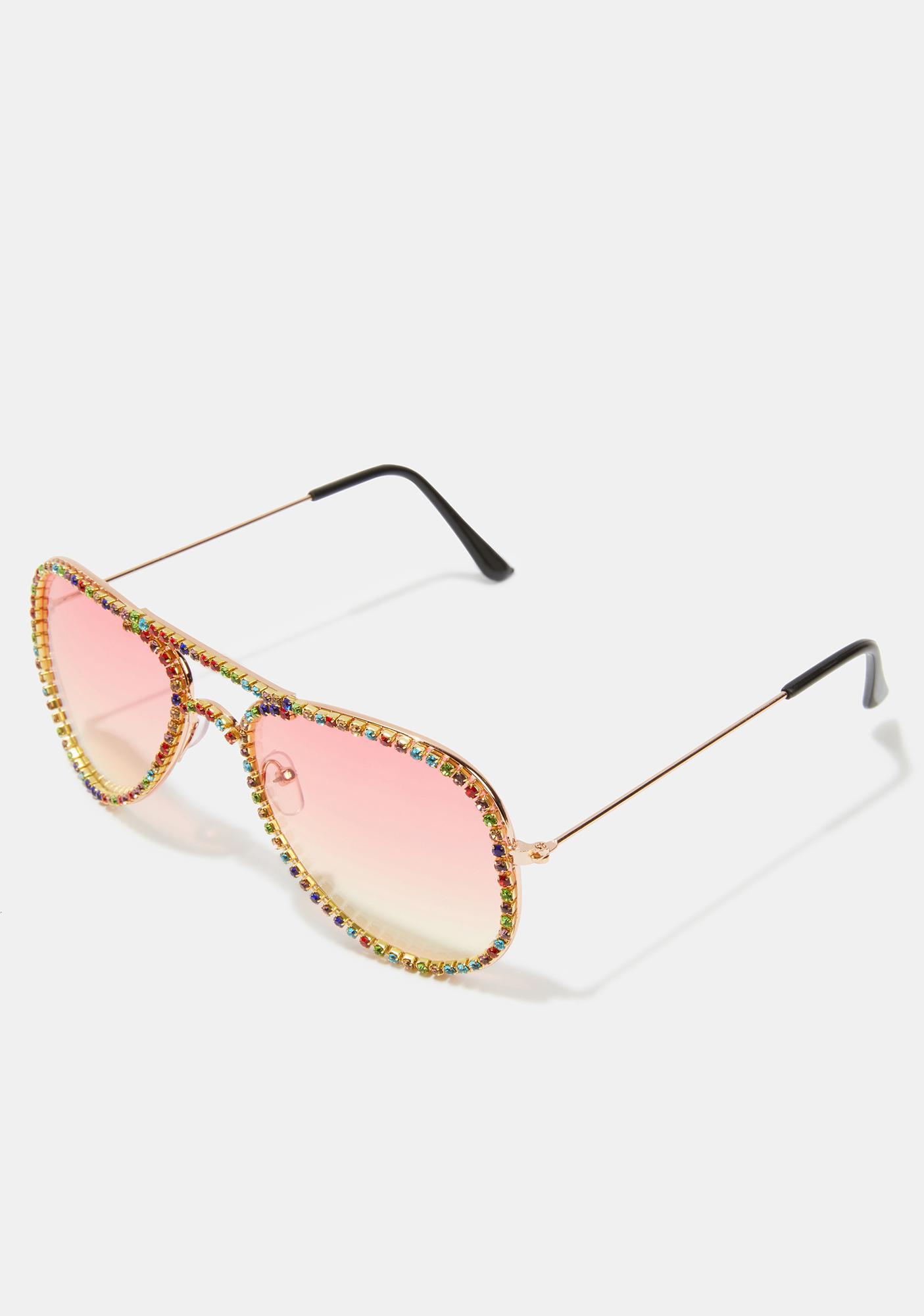 Flight Night Aviator Sunglasses
