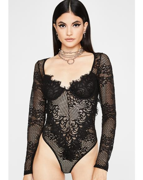 Keep It Kinky Lace Bodysuit