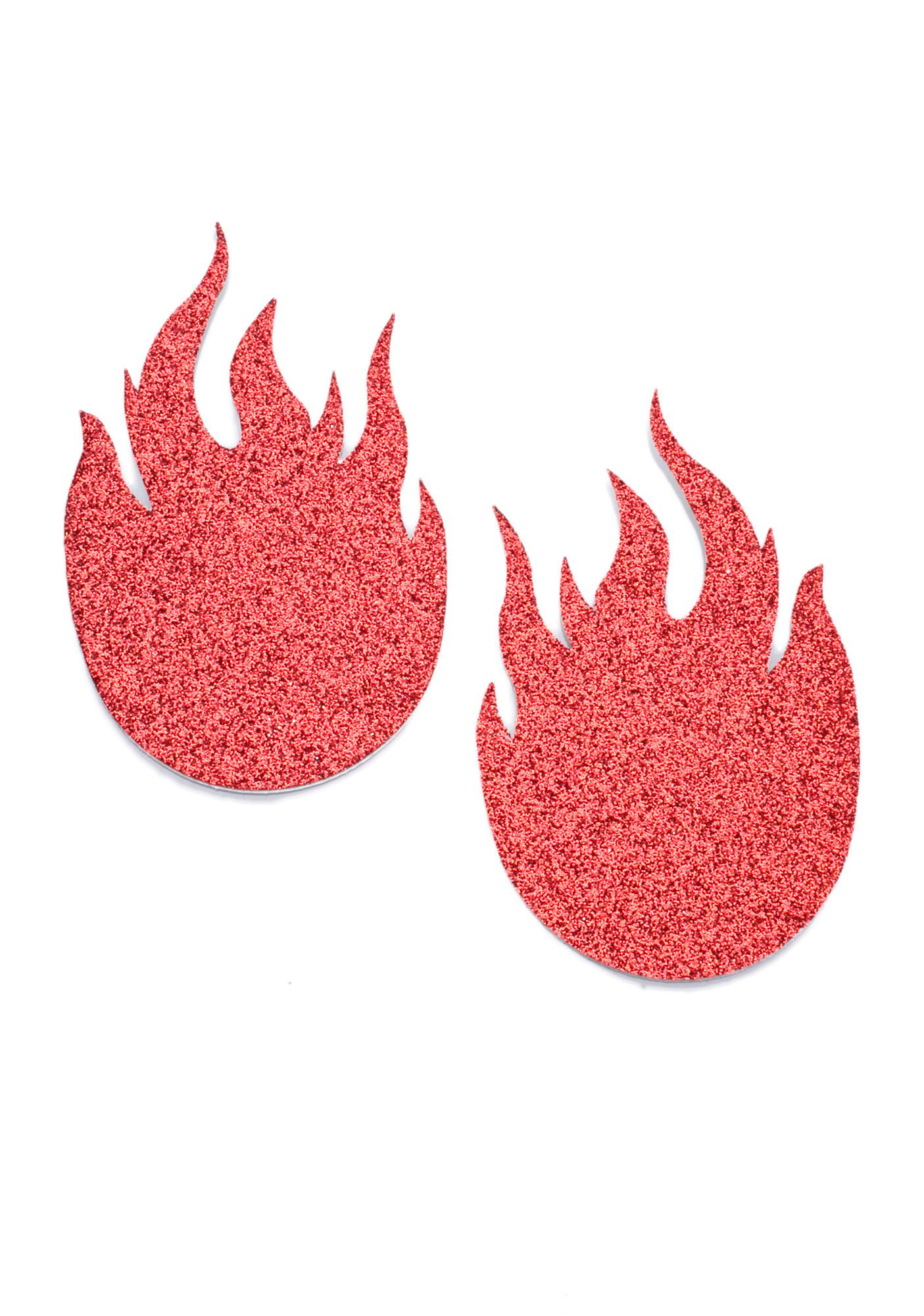 Pastease Flame Pasties