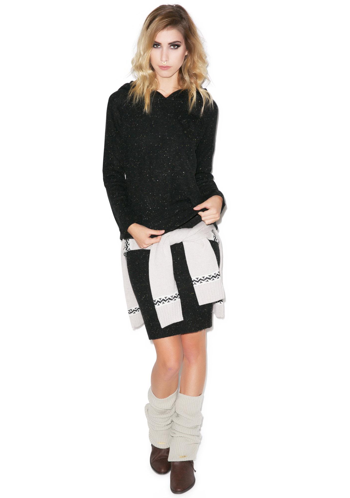 For Love & Lemons Hibernate Hooded Sweater