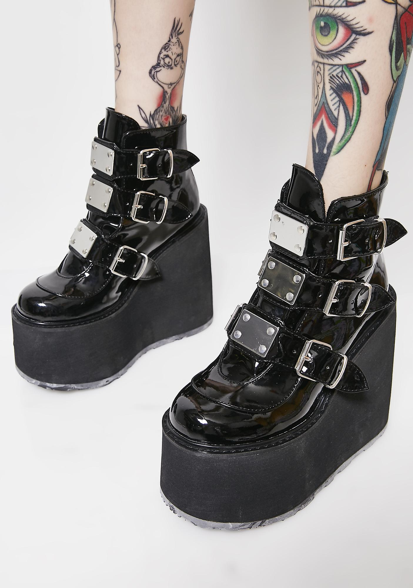 Demonia Low Trinity Boots