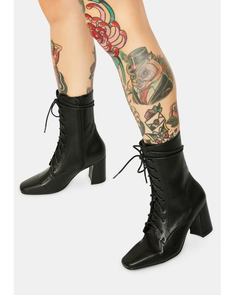 Avri Lace-Up Boots