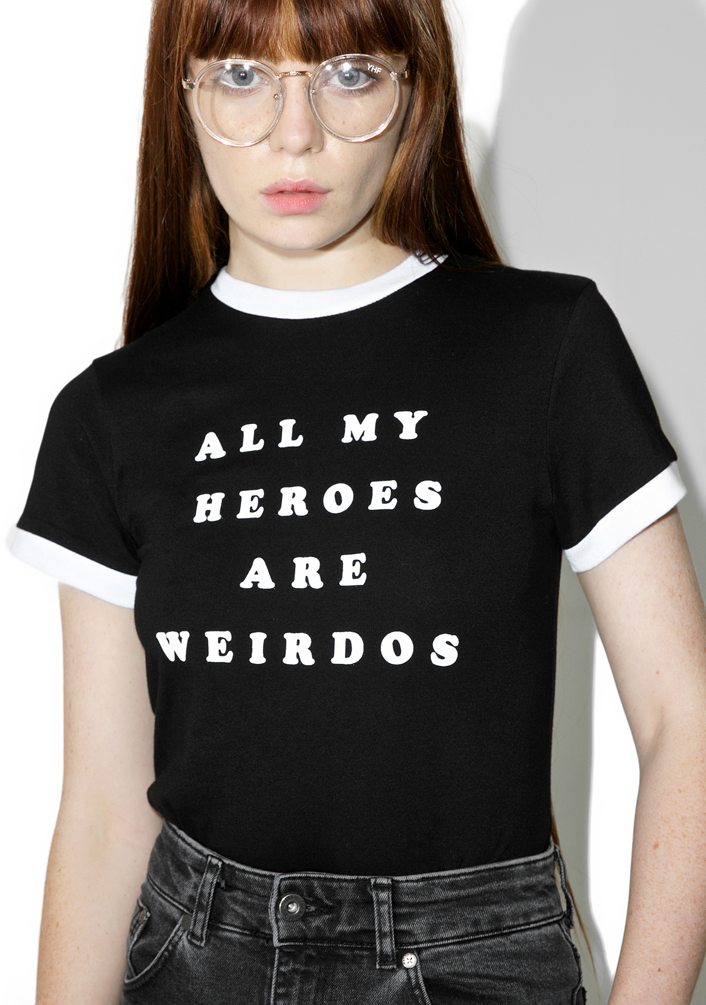 Lazy Oaf My Heroes Are Weirdos Tee