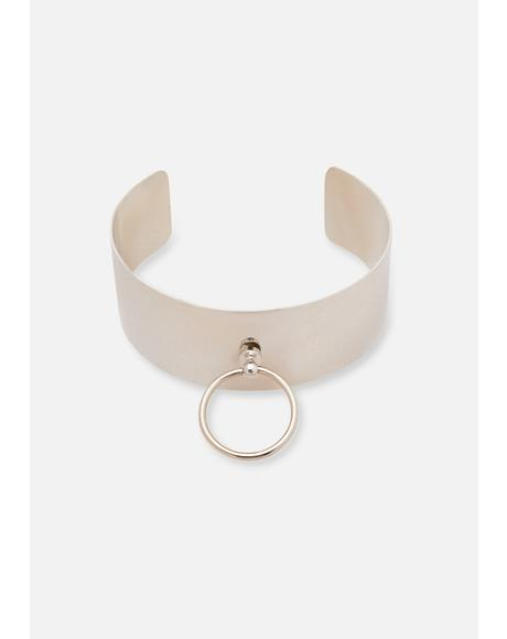 Bassline Metallic O-Ring Choker