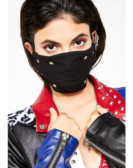 Baddie Tendencies Stud Mask