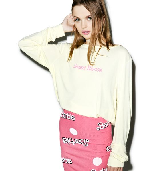 Wildfox Couture Smart Blonde Baggy Beach Jumper