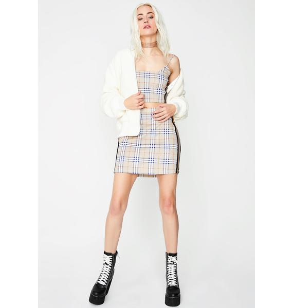 Proper Misbehavior Plaid Top