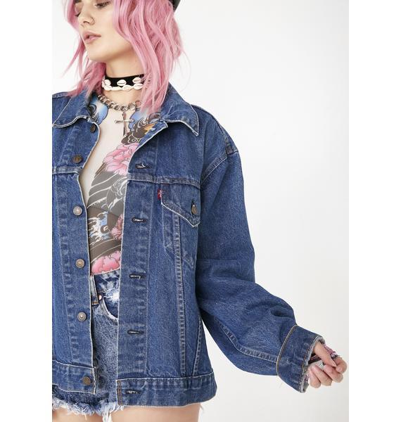 Dolls Kill x Malcolm Stuart Vintage LA Freeway Jacket