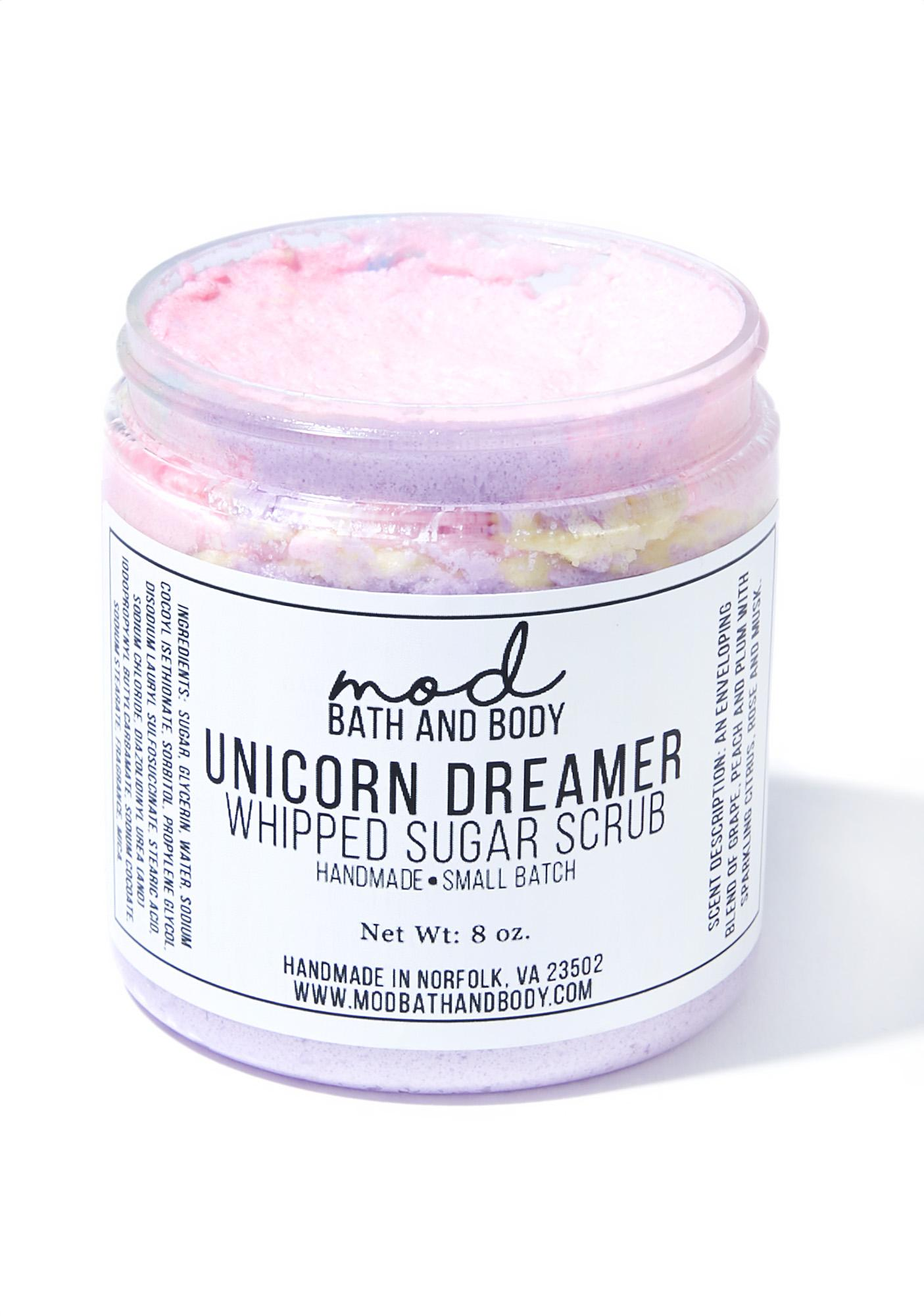 Mod Bath and Body Unicorn Dreamer Whipped Sugar Scrub