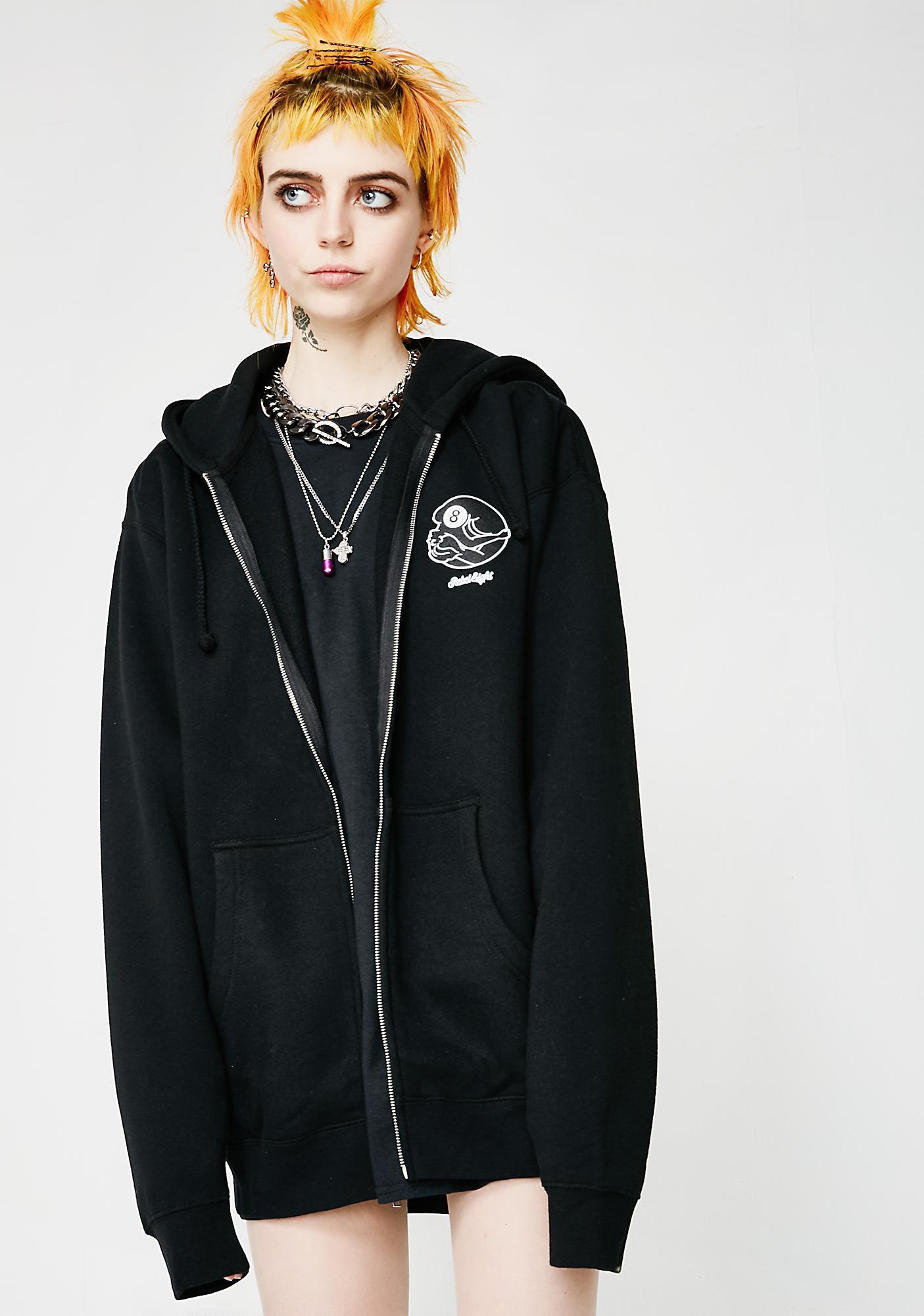 Rebel8 Dama Zip Up Hoodie