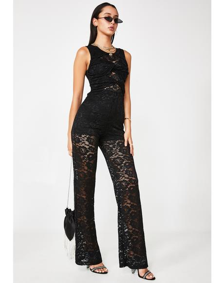 Risk It All Lace Jumpsuit