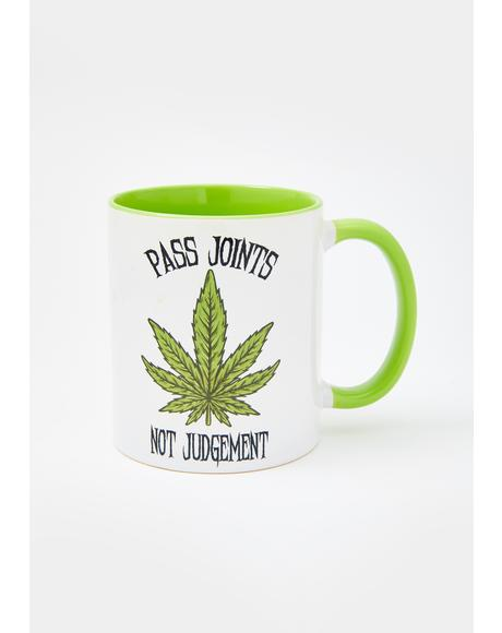 Green Pass Joints Coffee Mug